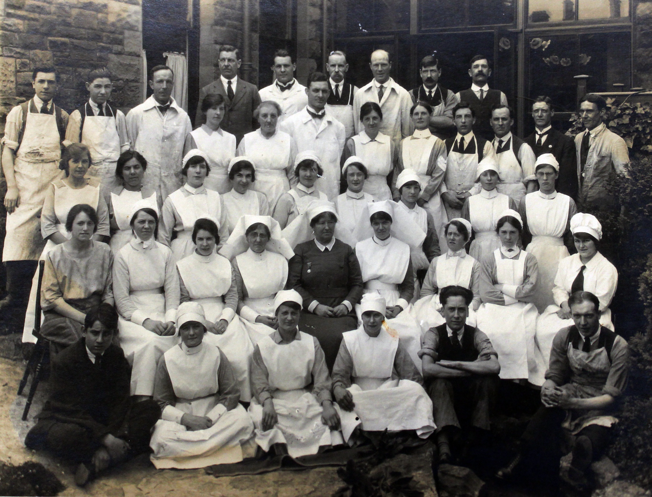 Matron Clara Deacon of the Prince of Wales Hospital, Cardiff